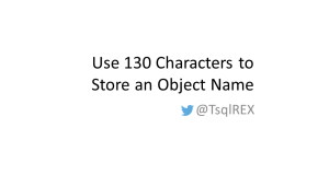 SQLErudition.wordpress.com-Use-130-Characters-to-Store-an-Object-Name
